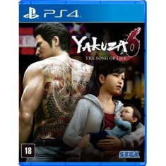 Foto Jogo Yakuza 6: The Song of Life PS4 Sega