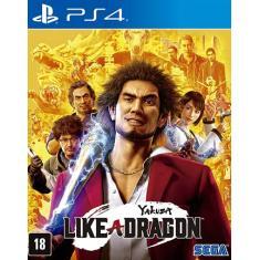 Jogo Yakuza: Like A Dragon PS4 Sega