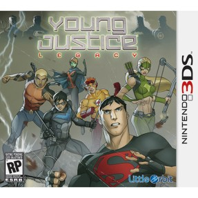 Foto Jogo Young Justice: Legacy Majesco Entertainment Nintendo 3DS