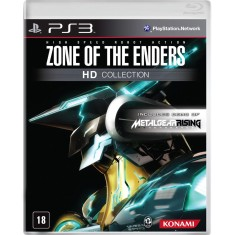 Foto Jogo Zone of the Enders HD Collection PlayStation 3 Konami