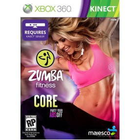Foto Jogo Zumba Fitness Core Xbox 360 Majesco Entertainment