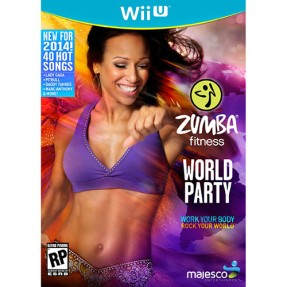 Foto Jogo Zumba Fitness: World Party Wii U Majesco Entertainment