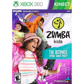 Foto Jogo Zumba Kids Xbox 360 Majesco Entertainment