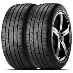 Kit 2 Pneus para Carro Pirelli Scorpion Verde All Season Aro 17 215/60 100H