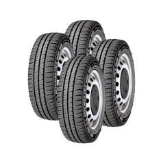 Kit 4 Pneus para Carro Michelin Agilis Aro 16 225/75 118/116R