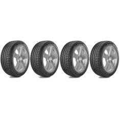 Kit 4 Pneus para Carro Michelin Pilot Sport 4 Aro 17 205/45 88Y