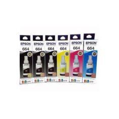 Kit 6 Tintas Epson Original L395 L365 L220 L455 L380 L375
