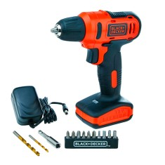 Kit Furadeira / Parafusadeira 3/8 Black&Decker - LD12SP