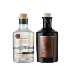 Kit Gin Velvo Botanic 700Ml + Gin Premium Velvo Artice 700Ml