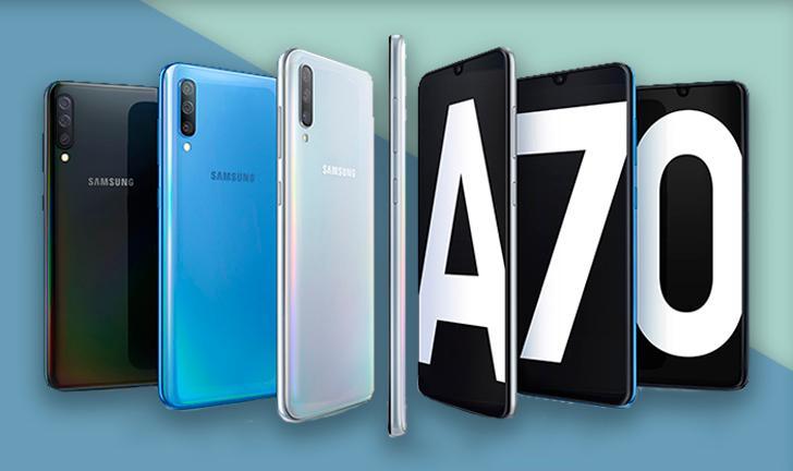 Lançamento do Galaxy A70: Samsung apresenta celular com câmera de 32 MP