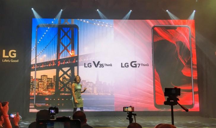 Lançamento LG G7 ThinQ e LG V35 ThinQ: confira as fichas técnicas