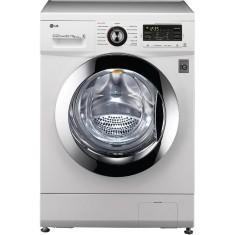 Lava e Seca LG 8,5kg 6 Motion Mega Touch WD9WE6 Água Quente