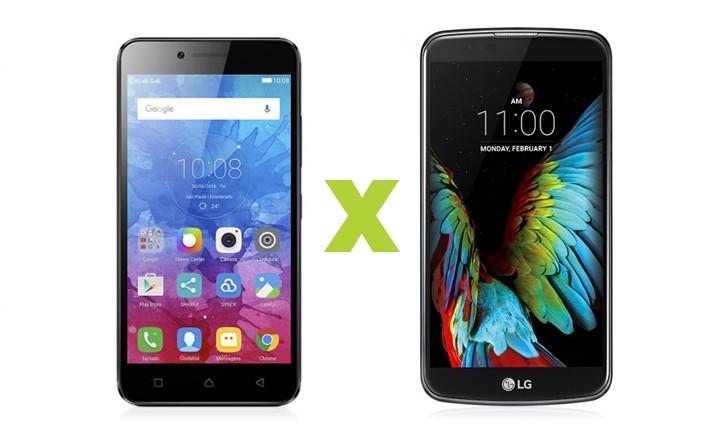 Lenovo Vibe K5 vs LG K10: um comparativo de smartphones intermediários