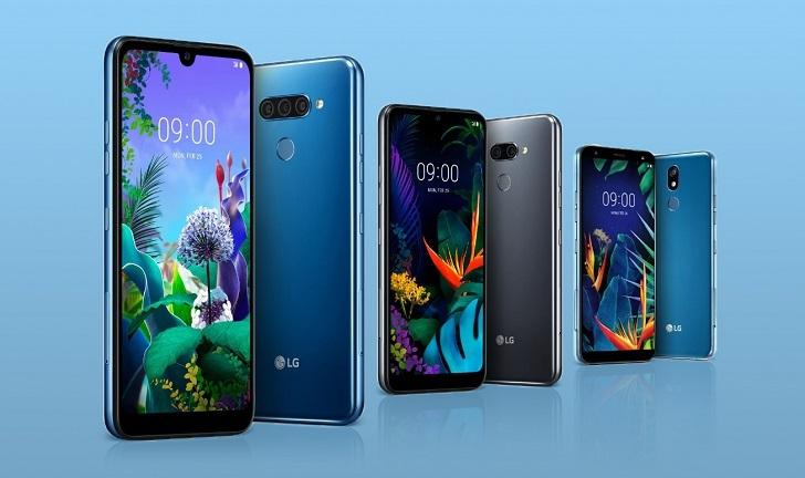 LG anuncia celulares intermediários com foco em IA; conheça os Q60, K50 e K40