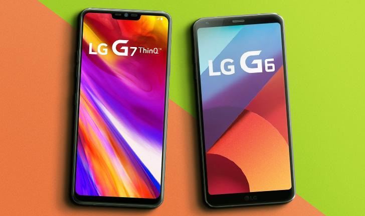 LG G7 ThinQ vs LG G6: o que mudou no novo top de linha da LG?