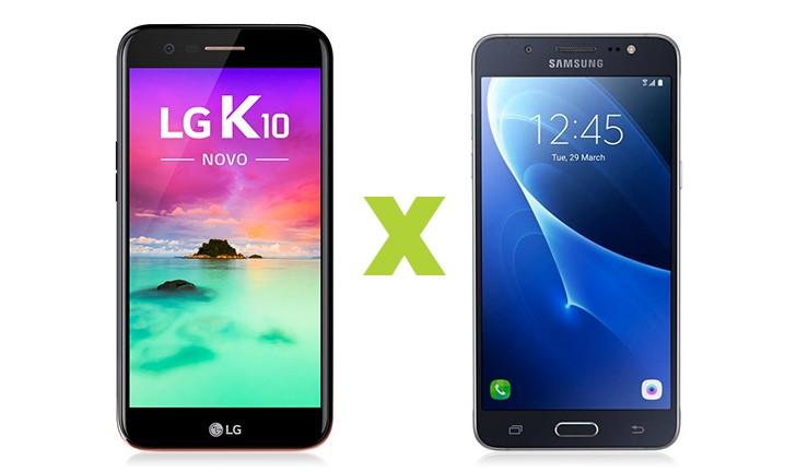 LG K10 2017 vs Galaxy J5 2016: descubra qual é o melhor