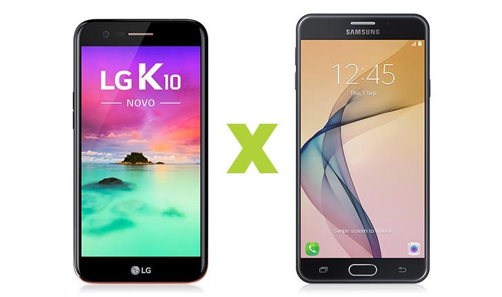 LG K10 2017 vs Galaxy J7 Prime: saiba qual é o melhor celular intermediário