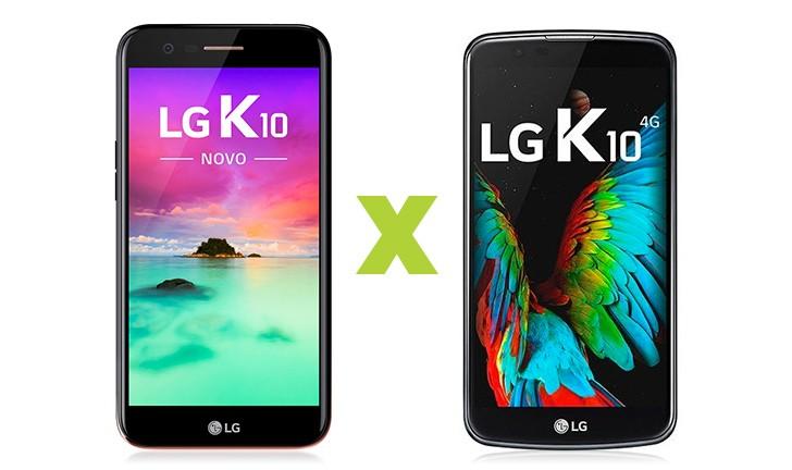 LG K10 2017 vs LG K10: confira qual é o melhor celular da LG
