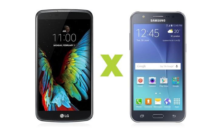 LG K10 vs Galaxy J5: saiba qual smartphone intermediário comprar