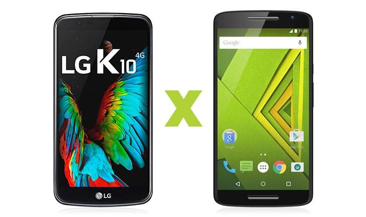 LG K10 vs Moto X Play: descubra qual é o melhor smartphone intermediário