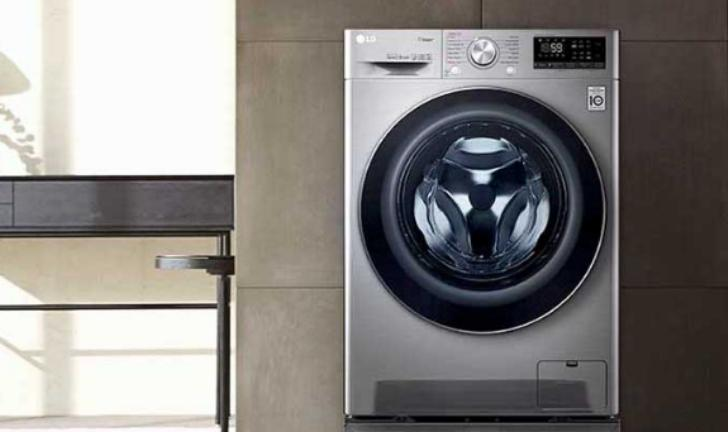 LG lança lava e seca TurboWash com Inteligência Artificial para lavar roupas