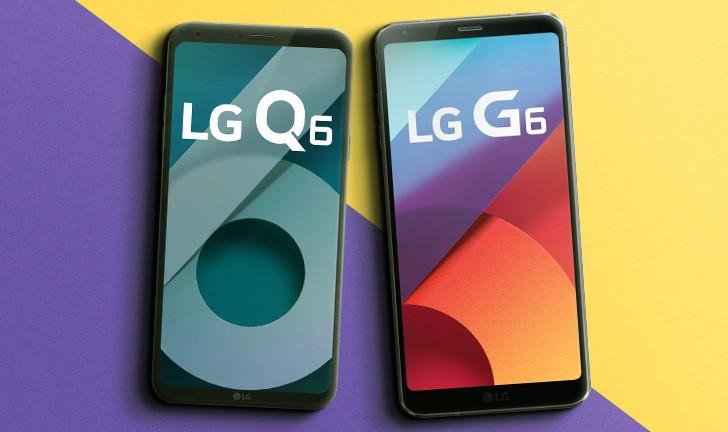 b6e9db354 LG Q6 ou LG G6  qual celular LG é melhor para você