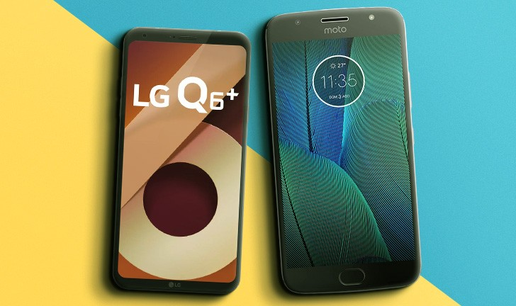 f884dd983 LG Q6 Plus vs Moto G5S Plus  quem leva essa