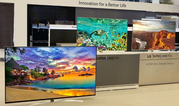 LG Super UHD TVs têm cores mais vivas e mais contraste