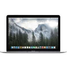 "Foto Macbook Apple MF855 Intel Core M 12"" 8GB SSD 256 GB Mac OS X Yosemite Tela de Retina"