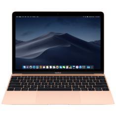 """Macbook Apple MRQN2 Intel Core m3 12"""" 8GB SSD 256 GB Tela de Retina 7ª Geração"""
