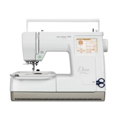 Máquina de Costura Doméstica Portátil Bordado Reta Bernette Deco 340 Sublime - Sun Special