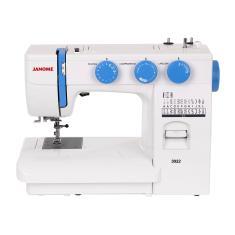 Máquina de Costura Doméstica Portátil Ziguezague Ponto Invisível 3022 - Janome