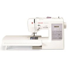 Máquina de Costura Doméstica Reta Bordado Patchwork 7285 - Singer