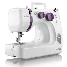 Máquina de Costura Doméstica Reta Prátika JX-2051 - Elgin