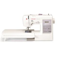 Máquina de Costura Doméstica Ziguezague Bordado Ponto Invisível Patchwork 7285 - Singer