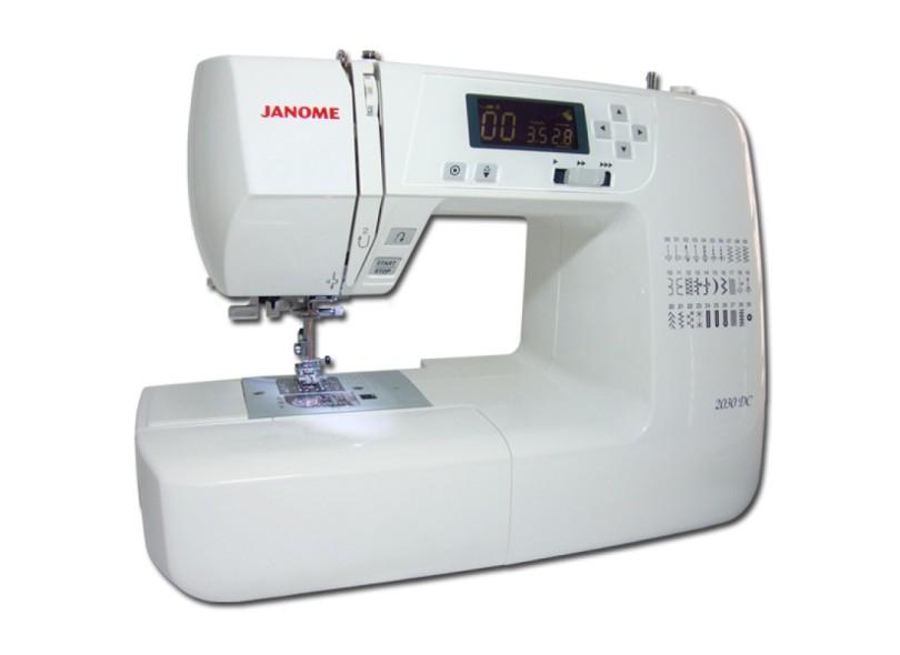 018e6aa2b Máquina de Costura Doméstica Ziguezague Ponto Invisível 2030DC - Janome