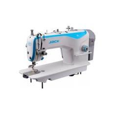 Máquina de Costura Industrial Jack F4 Completa com mesa e motor Direct Drive
