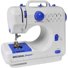 Máquina de Costura Portátil Reta Compact - Incasa