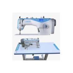 Maquina De Costura Reta Eletronica Jack A4 - 220 V completa com pés e mesa montados
