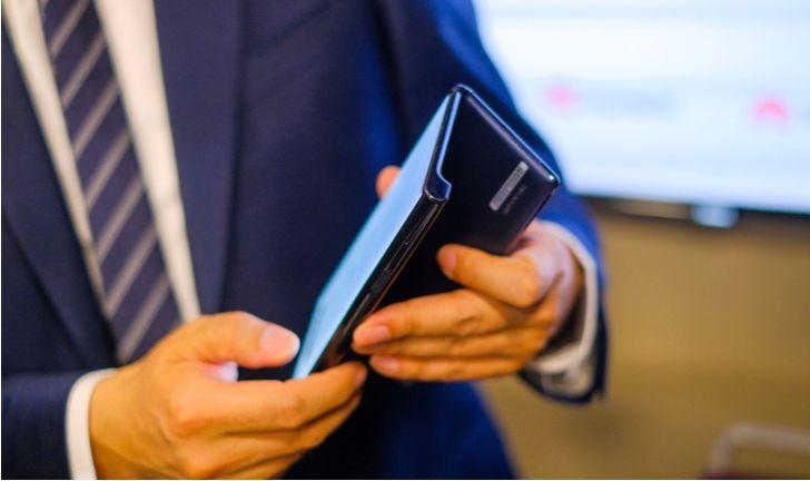 Mate X, celular dobrável da Huawei, atinge velocidade de 1 Gb/s em testes com 5G