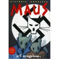 Maus - A História de um Sobrevivente - Spiegelman, Art - 9788535906288