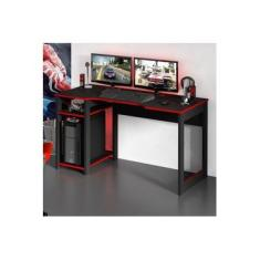 Mesa Para Computador Gamer Tecno Mobili ME4152 2 Prateleiras