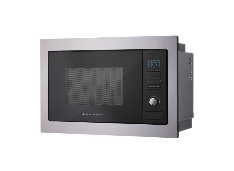 bdbd6a5e7 Micro-ondas de Embutir Cadence Gourmet MIC300 25 l Inox