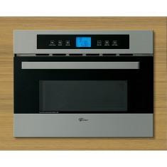 Micro-ondas de Embutir Fischer 34 Litros Platinum Grill Inox