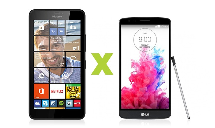 Microsoft Lumia 640 XL ou LG G3 Stylus: Qual leva a melhor?