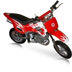 Mini Moto Cross Fire Motor Mono Cilindro 2 Tempos 49CC Barzi Motors
