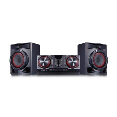 Mini System LG CJ44 X Boom 440 Watts Karaokê Bluetooth USB
