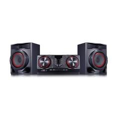 Mini System LG CJ44 X Boom 440 Watts Karaokê Bluetooth USB