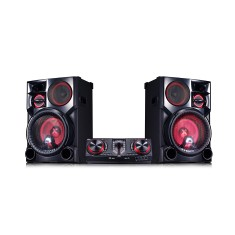 Foto Mini System LG CJ98 2.700 Watts Karaokê Bluetooth USB