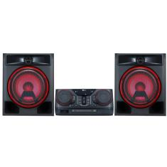 Foto Mini System LG X Boom CK56 620 Watts Karaokê Ripping Bluetooth USB